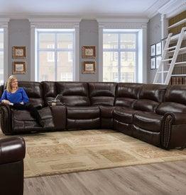Washington Furniture Waverly Mahogany Sectional