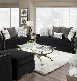 Washington Furniture Vogue Ebony Sofa