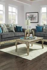 CLS Carson Gray Sofa