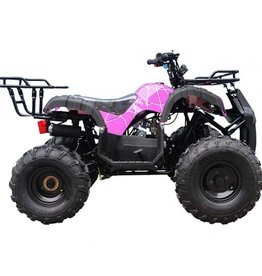 TMS TT-ATA-T-FORCE 125 cc  PINK Spider Full Auto w/Reverse