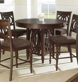 Steve Silver Dolly Counter Table w/4 Chairs