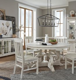 Magnussen Bronwyn Round Dining Table w/4 Chairs
