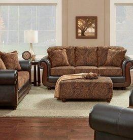 Affordable Furniture Kiser Cappuccino Sofa