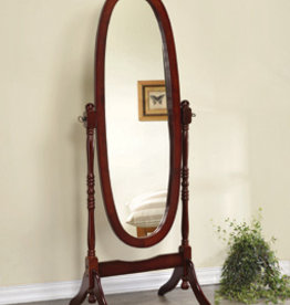 Coaster Merlot Cheval Mirror