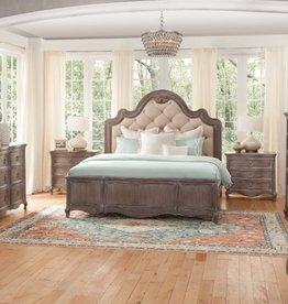 American Woodcrafters Genoa Queen Bed,D,M,C,N