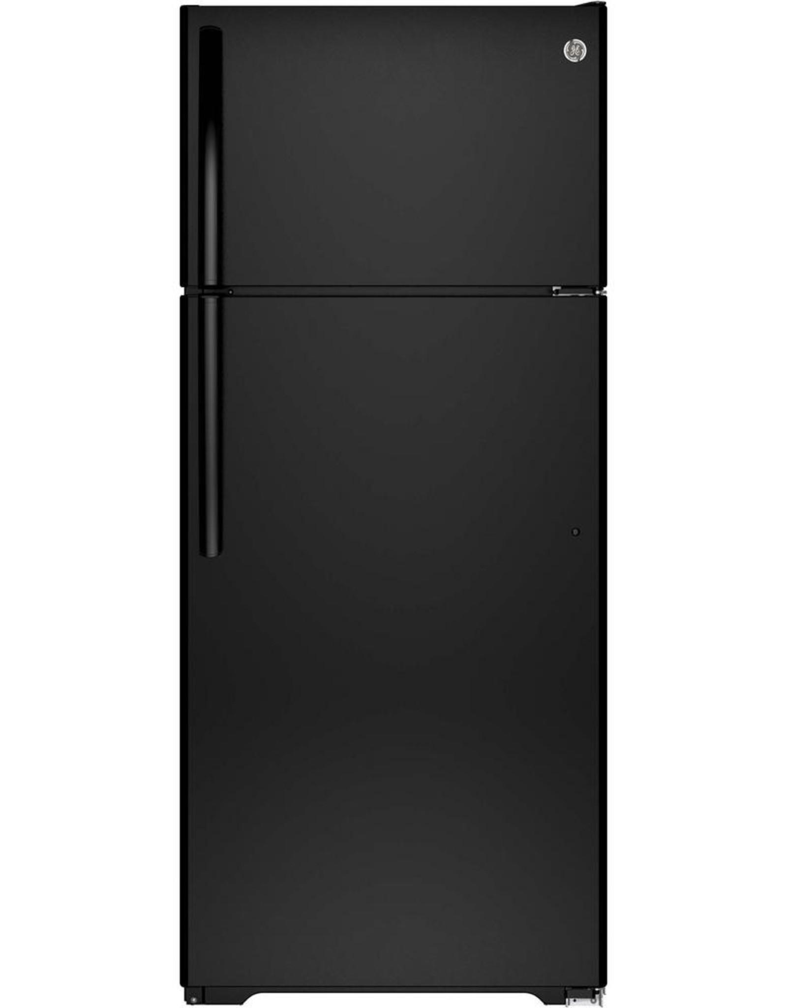 W&B Black GE Refrigerator
