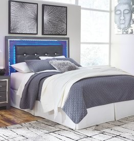 CLS Lafayette Queen Bed Metallic Grey