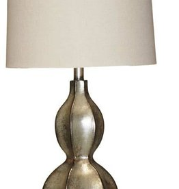 H&H 1811 Tarnished Silver Lamp