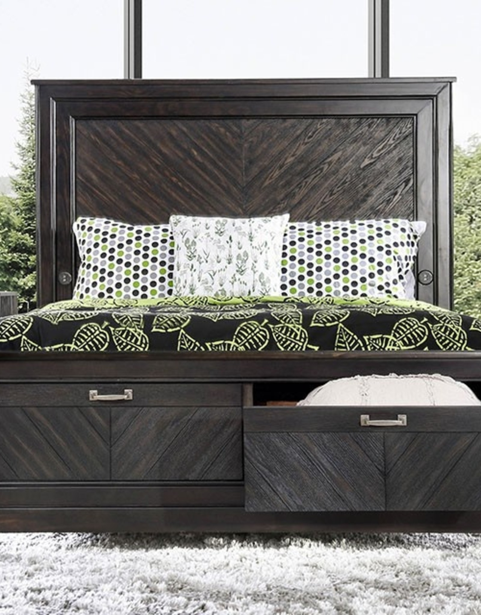 FOA Argyros Queen Bed,D,M,C,N