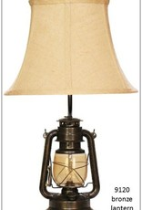 H&H 9120 Bronze Lantern Lamp