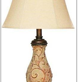 H&H 4712 Berber Finish Lamp