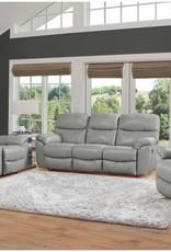 Franklin Cabot Light Leather Sofa