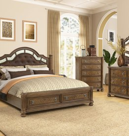 MYCO Karla King Storage Bed