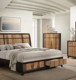 MYCO Ava Queen Bed Complete DMCNSR