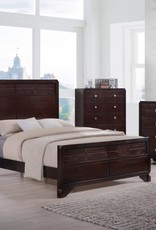 A PLUS INTERNATIONAL Brazos Bedroom Group Grey KING