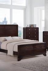 A PLUS INTERNATIONAL Brazos Bedroom Group Grey KING