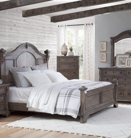 American Woodcrafters Heirloom Queen Bed