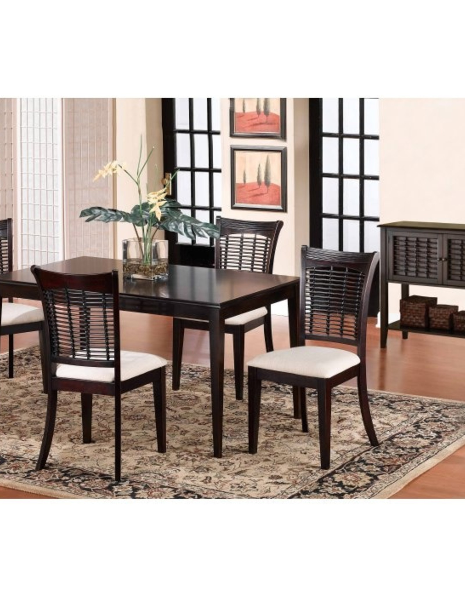 Hillsdale Furniture Bayberry Dining Table w/4 Chairs