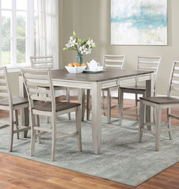 Steve Silver Abacus Dining Table w/4 Chairs