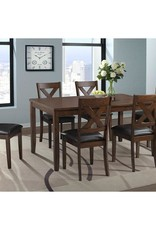 Elements Alex Grey 7pc Dinette Counter Height