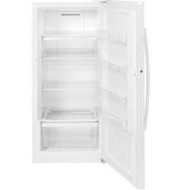CLS White GE Upright Freezer 14.1 CU FT