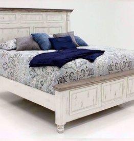 Vintage Furniture LLC Martha Queen Bed,D,M,C & NS