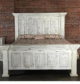 Vintage Furniture LLC Chalet Panel King Bed, D, M, C, NS