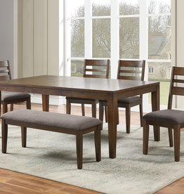 Steve Silver Stratford Dining Table w/4C & Bench
