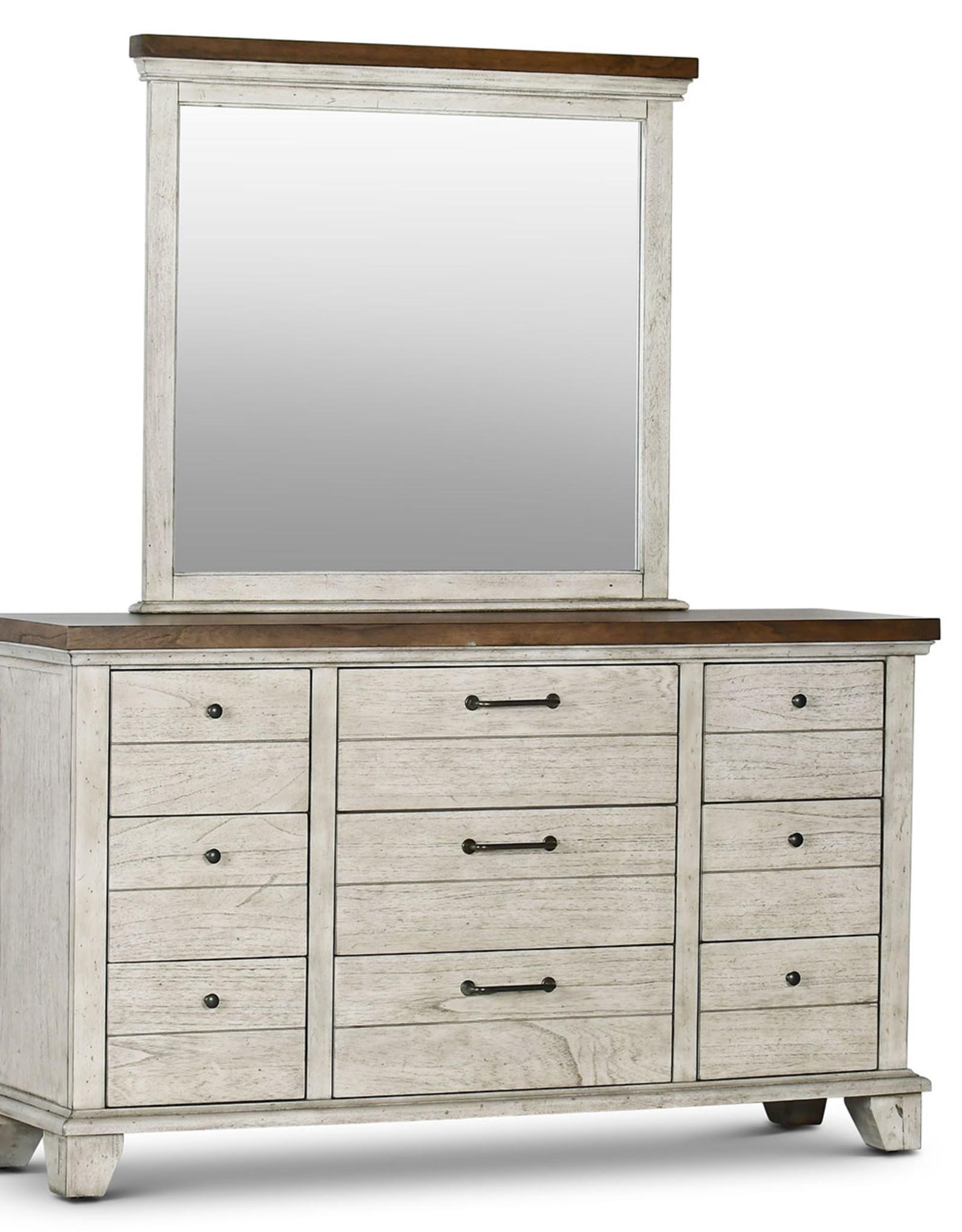 Steve Silver Bear Creek Dresser + Mirror