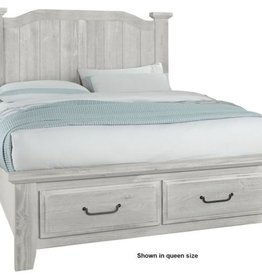 Vaughan-Basset Sawmill King Arch Storage Bed