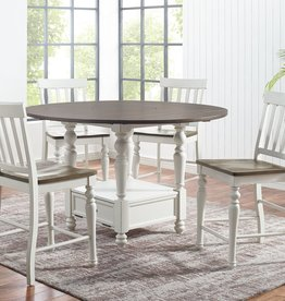 Steve Silver Joanna Round Counter Height Table w/4 Chairs
