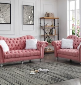 MYCO Corvert Pink Sofa