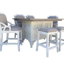 Vintage Furniture LLC Westgate Pub Table w/4 Chairs