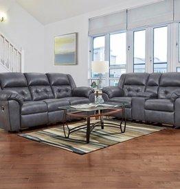 Affordable Furniture Telluride Indigo Motion Loveseat