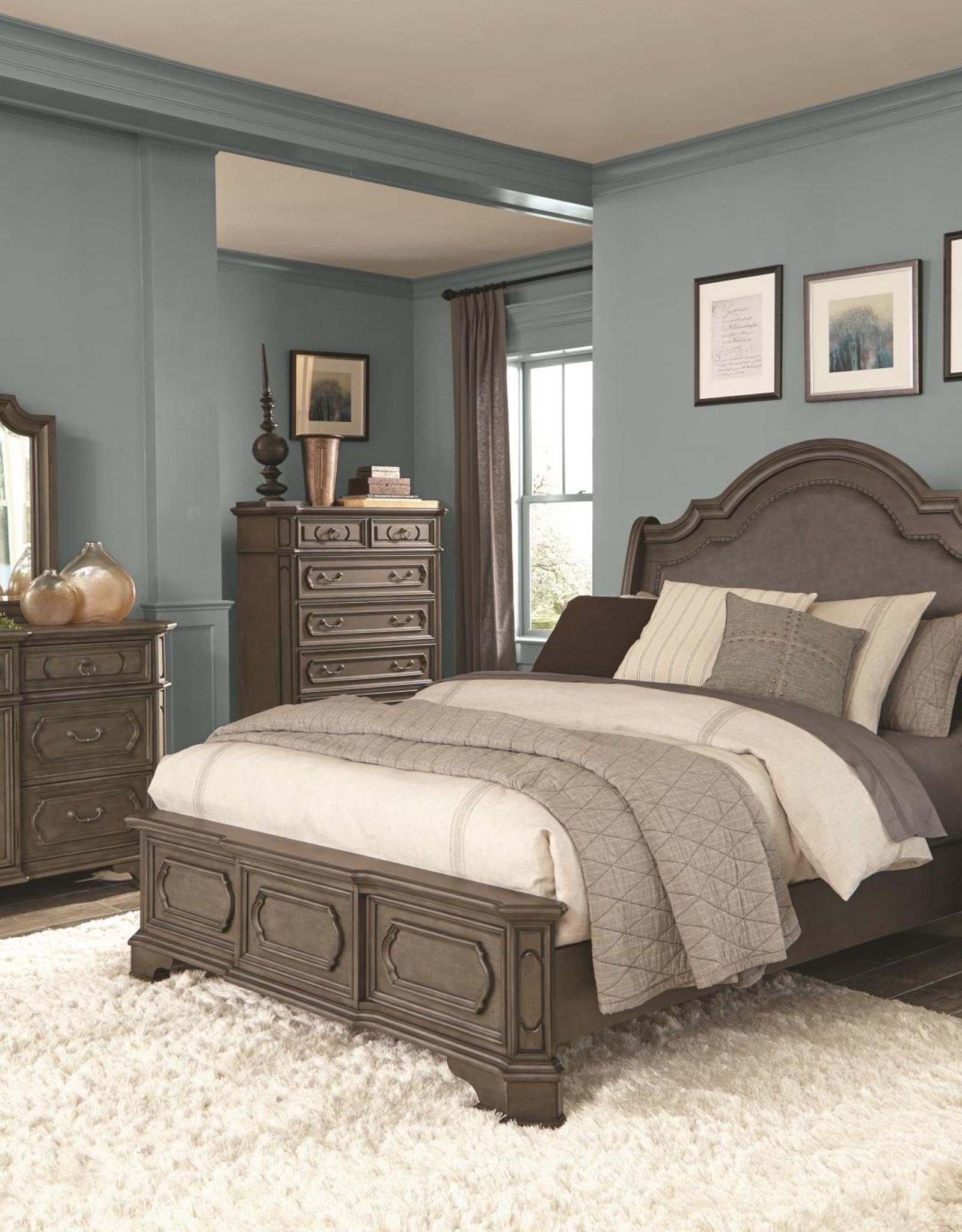 Kith Furniture Ballard Park Gray King Bed