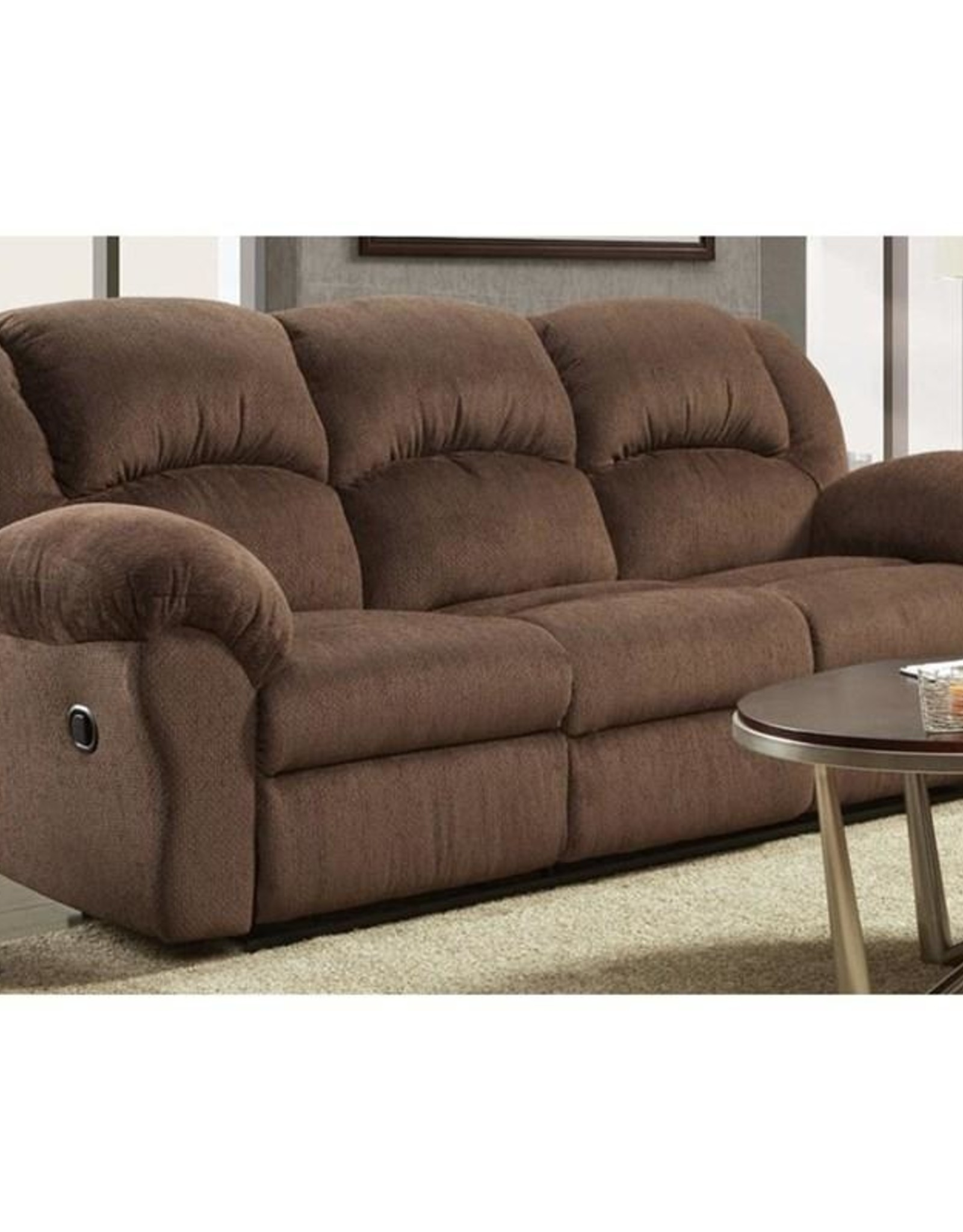 Affordable Furniture Aspen Chocolate Sofa