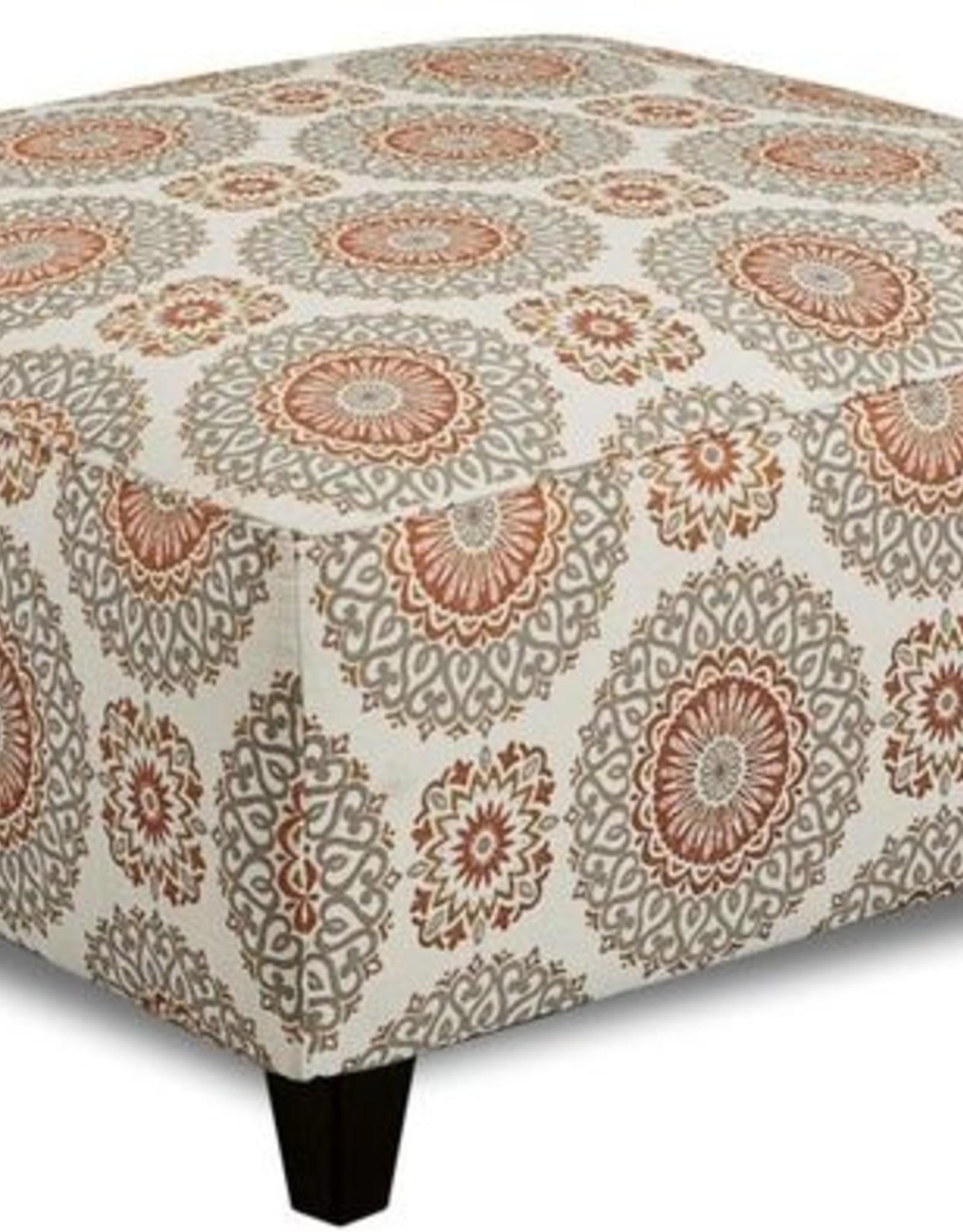 Affordable Furniture Brianne Marmmalade Ottoman