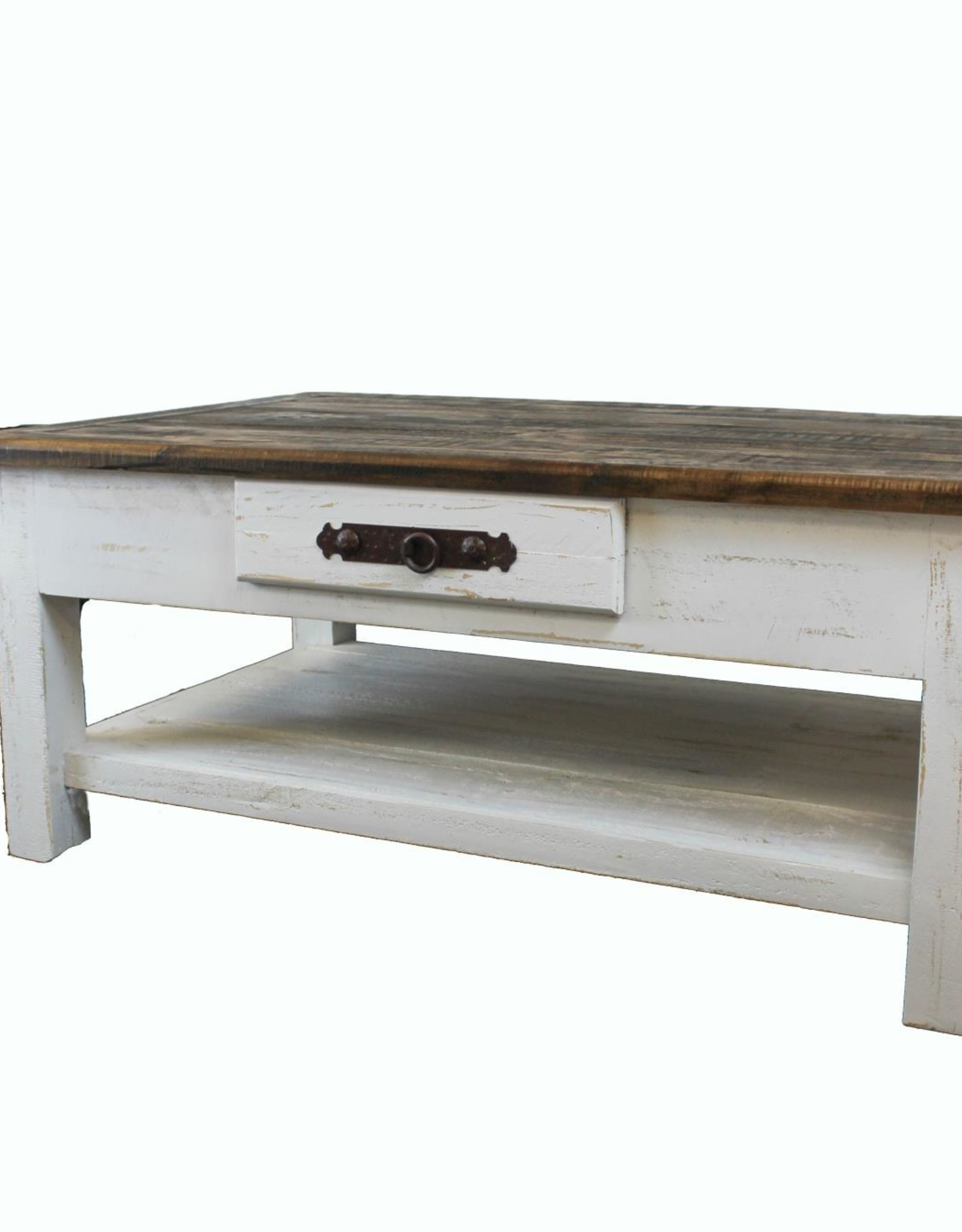 LMT Imports Campo White Coffee Table