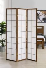 MYCO 3 Panel Brown Room Divider
