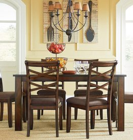 Standard Redondo Table with 6 Chair