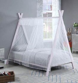 Coaster Twin Tent Bed : Pink