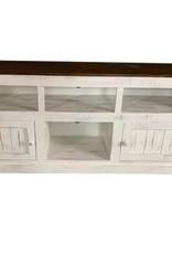"""Vintage Furniture LLC 50"""" TV Stand 2D w/Shelves"""