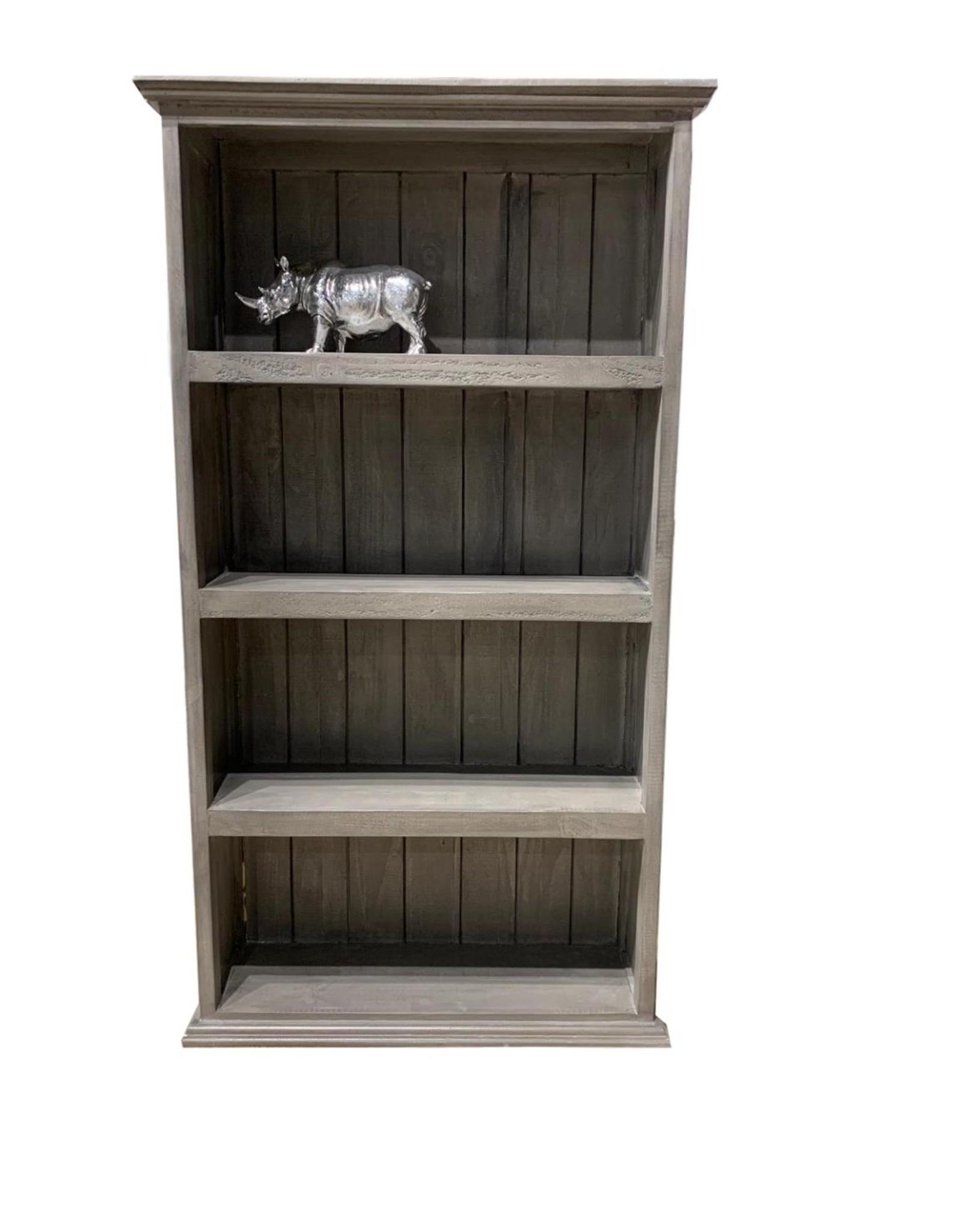 "Vintage Furniture LLC Bookcase 64"" Brown"