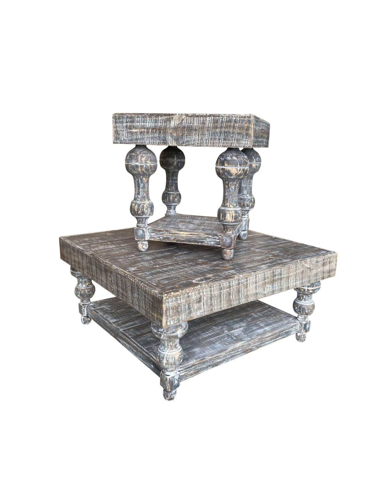 Vintage Furniture LLC Calais Coffee Table with 2 End Tables