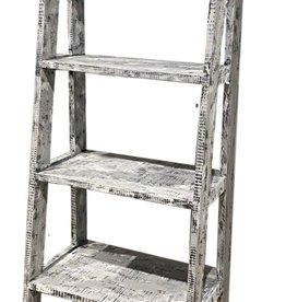 Vintage Furniture LLC Ladder Bookcase No Drawer (Old World)