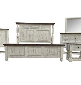 Vintage Furniture LLC Martha King Bed, D, M, C & NS (Vintage)