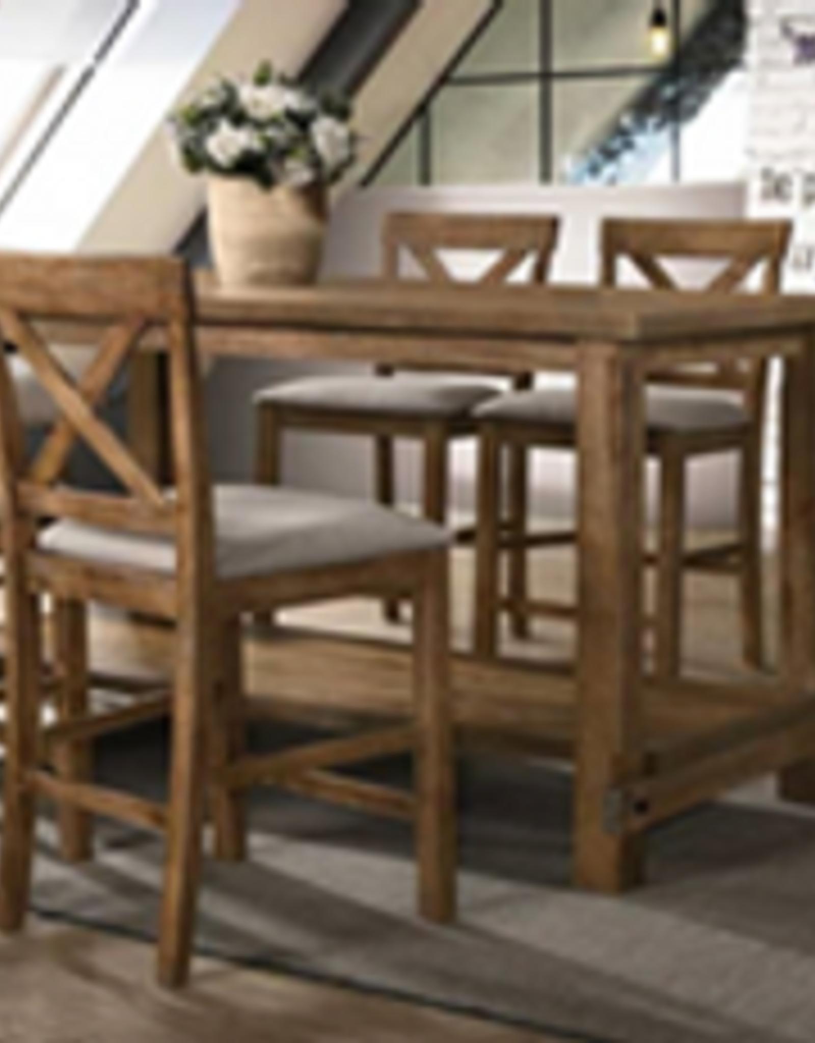 A PLUS INTERNATIONAL Blanton Bristo Table w/6 Chairs