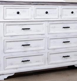 Split Nickel Charleston Dresser