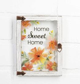 Ganz Home Sweet Home Iron Plaque