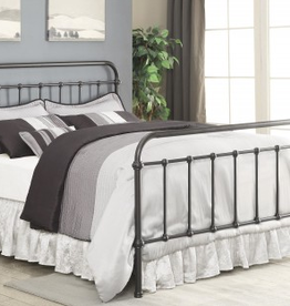 Coaster Bronzed Full Iron Bed